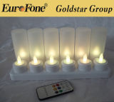 Top Sale Decoration LED Rechargeable Candle Light