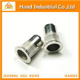 Stainless Steel Countersunk Serrated Head Knurled Body Rivet Nut
