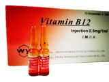 GMP Certificated Vitamin B 12 Injection Pharmaceutical Drugs