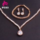 Best Price Good Quality Copper Material Plated 18k Gold CZ Jewelry Sets