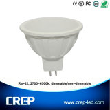 6W AC/DC12V Dimmable LED Spot Lighting MR16 Gu5.3