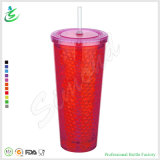 22oz as Double Insulated Cool Gel Tumbler with Straw (FB-A11)