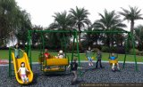 Kaiqi Children and Toddlers′ Swing and Slide Set for Playground (KQ50156B)