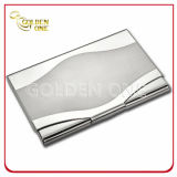 Factory Wholesale Square Stainless Steel Crdeit Card Case