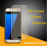 Full Coverage 3D Clear Curved Tempered Glass Phone Screen Protector for Samsung S7 Edge