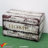 Sponge Leather Decorative Trunk Handmade Storage Boxes
