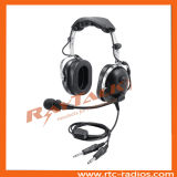 Pnr Aviation Headset Pilot Headphones with Noise Cancelling Microphone
