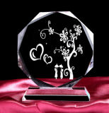 Crystal Award with Custom Logo