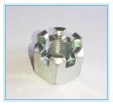 Carbon Steel 4.8 Grade Castel Nut/ Hex Slotted Hex Nut
