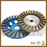 Diamond Turbo Grinding Cup Wheel with Aluminium Base
