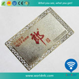 Factory Engraved Customized Cheap Metal Business Card