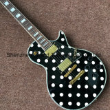 Custom LP Electric Guitar with White Spot on Body (GLP-538)