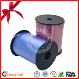 Wedding Decorative Blue Polyester Satin Ribbon Spool
