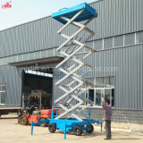 10m 500kg Mobile Hydraulic Scissor Lift Platform / Table / Elevator