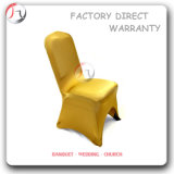 Yellow Color Plain Spring Chair Coverings (RT-41)