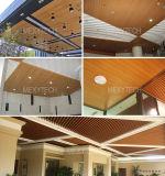 Indoor Decoration Fire Resistance Artistic Eco-Wood False Ceiling Panel