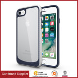 New Woven Texture Hybrid Clear Cell Phone Case for iPhone 7