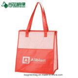 New Arrival Laminated Shoulder Beach Cooler Bag Shopping Cooler Tote Bag