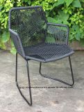 Outdoor Morden Dining Rattan Armchair Tropicalia Restaurant Garden Beach Chairs