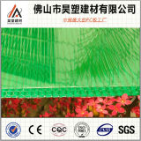 Green Honeycomb Polycarbonate Hollow Sheet PC Sheet for Agriculture Greenhouse and Breeding Shed