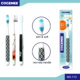 Adult Toothbrush with Slender & Soft Bristles 113