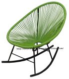 Morden Metal Rattan Outdoor Leisure Rock Acapulco Lounge Chair