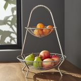 Decorative Classical Fruit Basket with Hand Shank