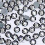 2088/8+8 Rhinestone Hotfix Black Diamond Ss16/Ss20 Hot Fix Rhinestone for Clothing Accessory Nail Art
