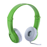 Wired Hearing Protect Over Ear Kids Headphones, Stereo Soft Headband Volume Limiting Children Headphones