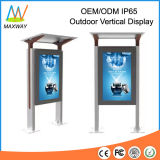 Unique Design 55 Inch IP65 Waterproof 2000 Nits Outdoor Vertical LCD Display (MW-551OS)