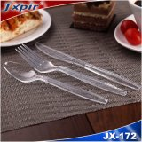 China Supplier Promotion Gift Wholesale Plastic Handle Tableware