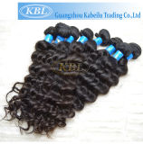 100%Virgin Brazilian Human Hair Weft with Double Layers (KBL-BH-DW)
