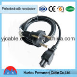 Wholesales UK 3 Pin Connector AC Power Cord for Home Appliance