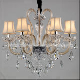 European Style Crystal Chandelier for Home in Light Gold