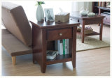 Antique Style Solid Wood Cabinet Wooden Bedside Table (M-X1098)