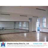 Clear/Color Toughened/Float Silver/Aluminium Mirror for Dancing Room