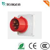 Ceeform/IEC International Standard IP44 IP67 Panel Mounted Industrial Plug
