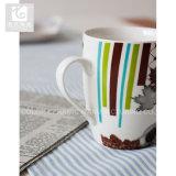 14oz Drum Shape Porcelain Tea Mug Own Design Printing
