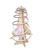 New Wholesale Unfinished Wooden Foldable Christmas Tree