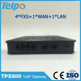 Best Seller G. 711 a/U-Law/G. 729A/Ab/G. 723.1 VoIP 4 Port ATA