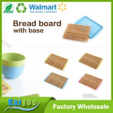 Going Green Strip-Type Bamboo Fiber Bread Board with Base