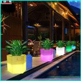 LED Lighting Hotel Plastic Furniture Beer Wine Cooler