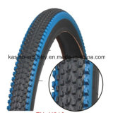 High Quality Blue Colour Tyre/Tire for Bike (Competitive price)