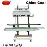 Vertical Continuous Band Sealer Qlf-1680 Sealing Machine for Plastic Bag