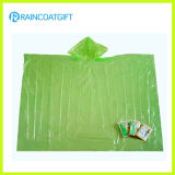 Clear Waterproof Disposable PE Rain Cape Rpe-054