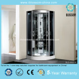 High Quality Coated Mirror Back Glass Steam Shower Cabin (BLS-9837A)