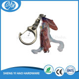 Eco-Friendly Iron on Printing Metal Key Chain for Promotion