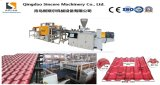 PVC+ASA Glazed House Roof Tile Line PVC Slope Corrugated Building Tile Production Line Two Layers Sheet Machinery 880 1050