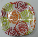 Colourful Durable Plate Plastic Mold (yixun -jy)
