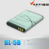 High Quality Lithium Mobile Phone Battery 3.7V 600mAh Bl-5c